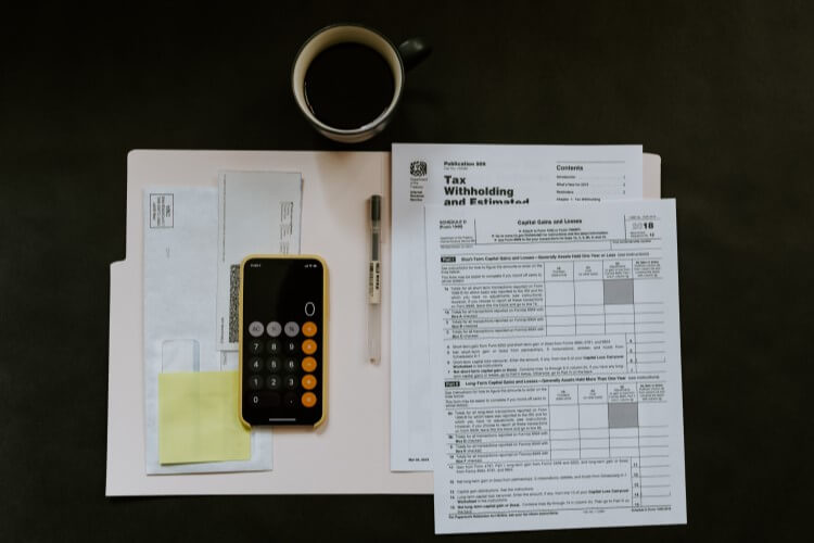 tax documents and forms